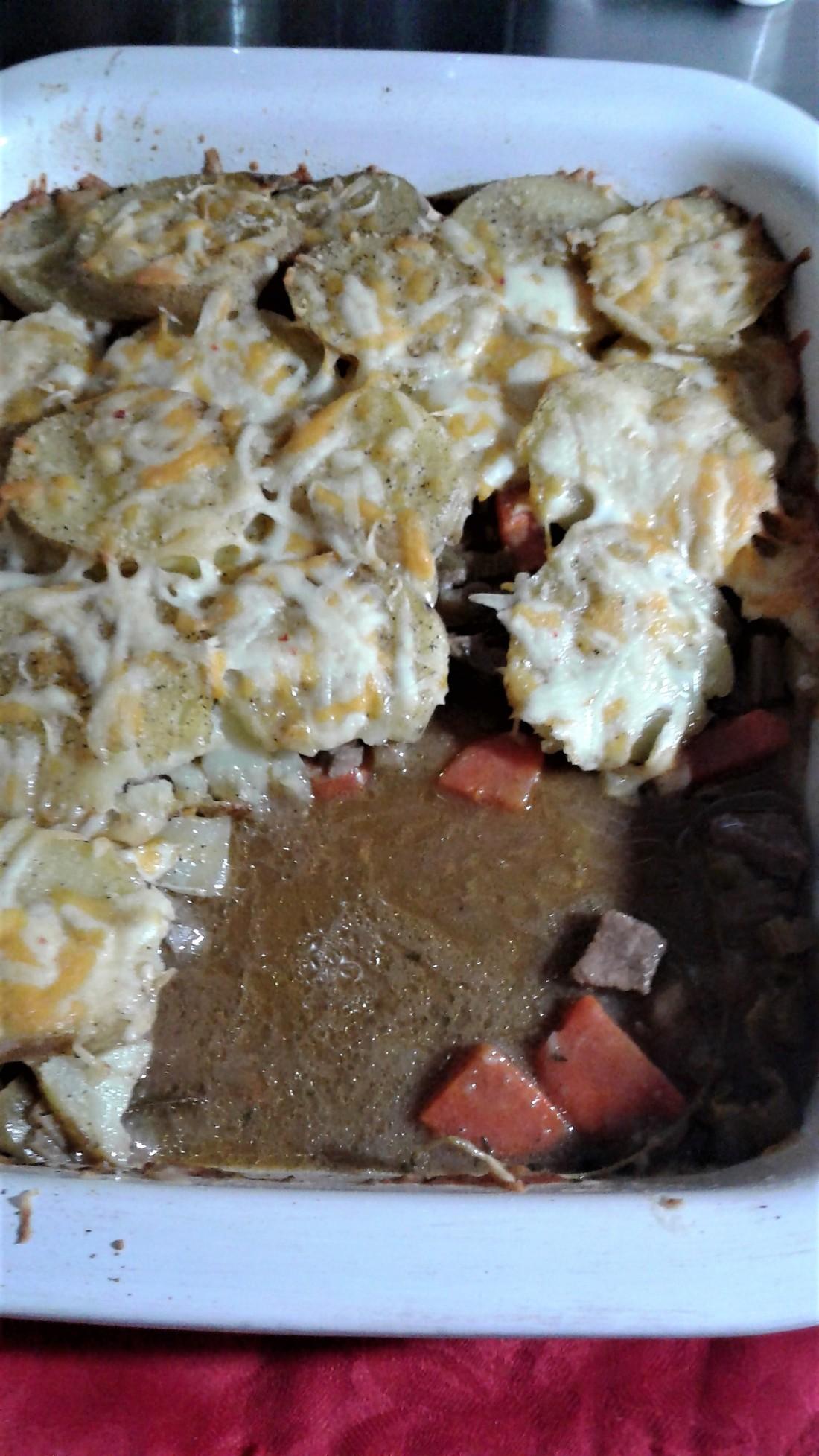 Crispy top Cumberland Pie