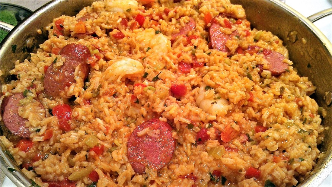 Sausage and Shrimp Jambalaya