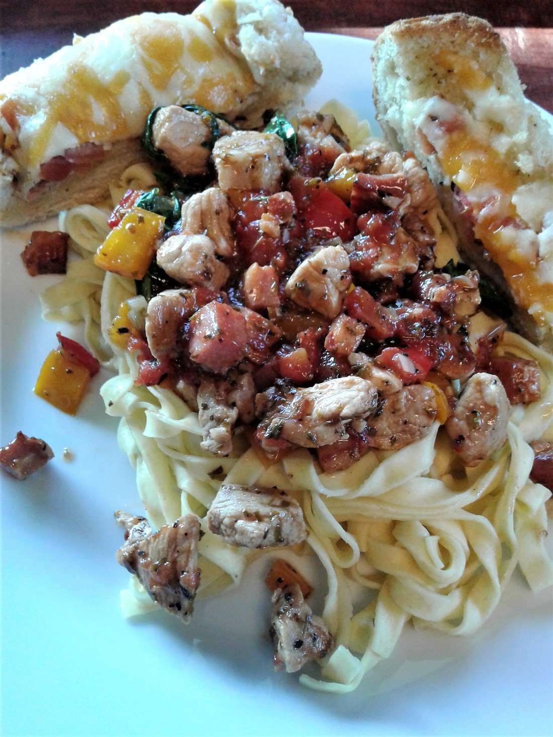 Pork and Pancetta Pasta