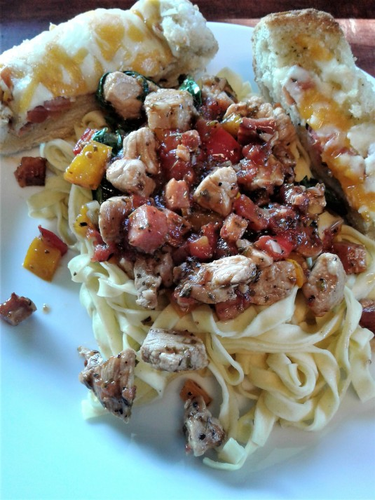 Pork and Pancetta Pasta