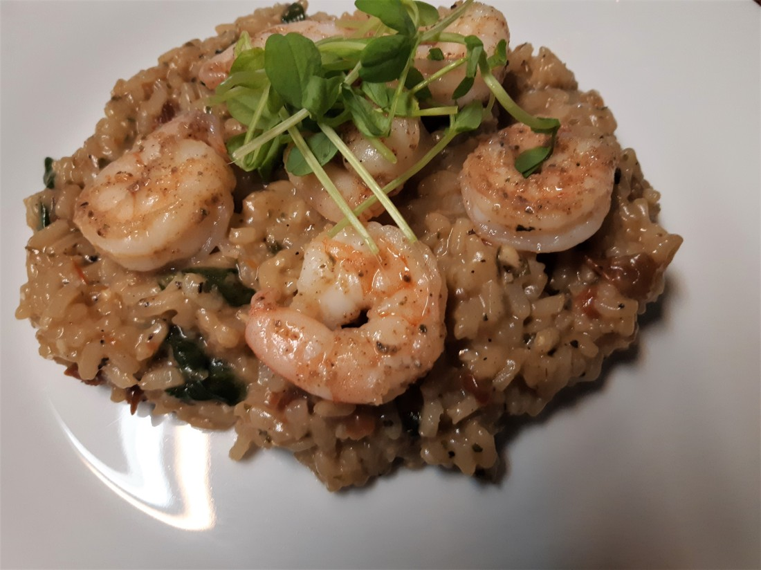 Shrimp and Risotto
